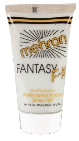 Fantasy Fx Cream Makeup (Mehron Makeup Fantasy F/X Water Based Face & Body Paint (1 oz) (MOONLIGHT WHITE))