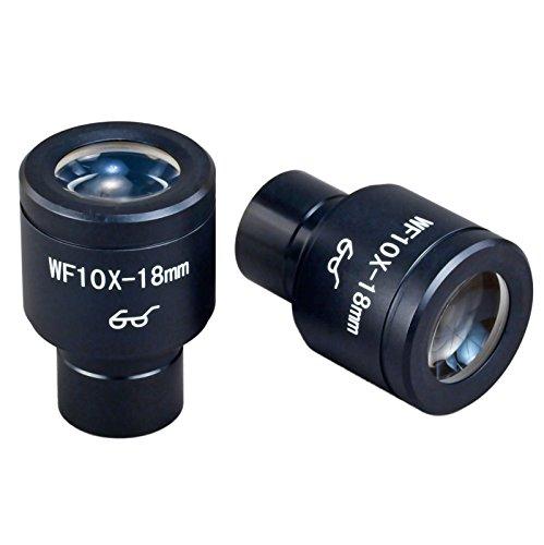 OMAX WF10X / 18ハイアイポイント顕微鏡接眼レンズ23.2ミリメートルのペア   B00FG8EIO0