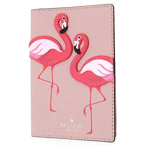 Kate Spade Flamingo By The Pool Passport Holder, Pink Multi 8