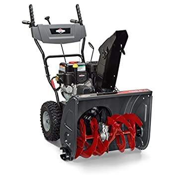 Briggs & Stratton 1024LD 24 Dual-Stage Snow Thrower with 208cc Engine and Electric Push Button Start