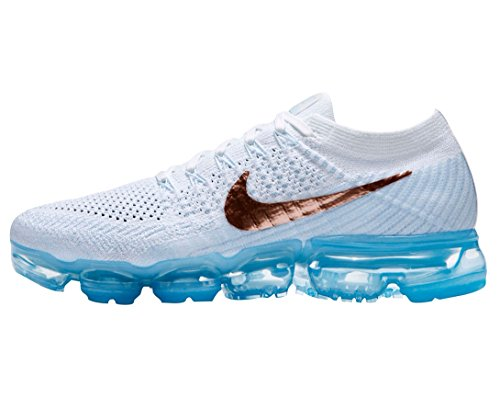 NIKE Air Vapormax Flyknit - Women's Womens 849557-104 Summit White/Mtlc Red Bronze clearance 100% authentic sale huge surprise FyLv6Ux