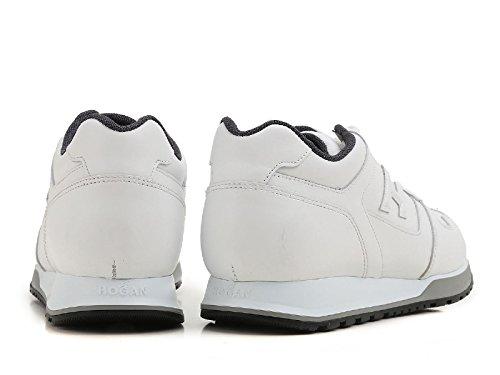 Hogan Herren Hxm3210y850btlb001 Weiss Leder Sneakers