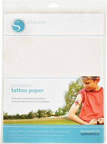 Papier tatouage temporaire
