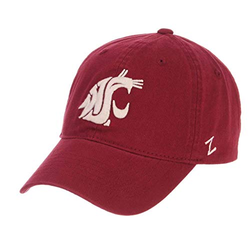 NCAA Washington State Cougars Men's Scholarship Relaxed Hat, Adjustable Size, Team Color