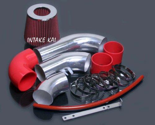 Cavalier Intake - Red 2002 2003 2004 2005 Chevy Chevrolet Cavalier Pontiac Sunfire 2.2 2.2L Ecotec Air Intake Kit Systems