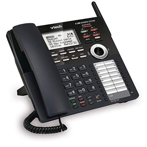 - VTech AM18247 Extension Deskset for VTech 4-Line Expandable Small Business Office Phone System