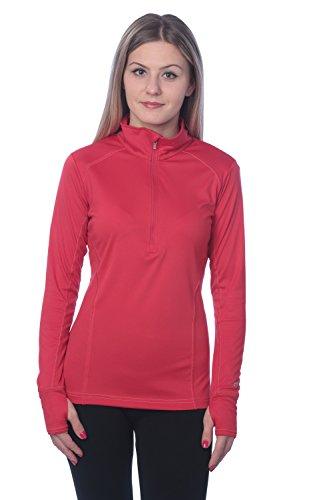Champion Women's Womens Powertrain Vapor 1/4 Zip Pullover (X-Small, (Zip Long Sleeve Pullover Top)