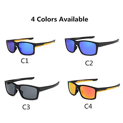 Color C4 Sol Aire Hombre Ultralight Hombre TR90 De de C3 Gafas Al LBY Libre Sol para Gafas qPw6ZPHp