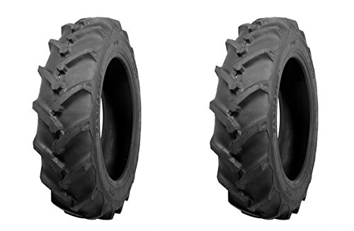 (TWO) ATF 6-14 Traction R-1 Lug Tractor Tires & Tubes 6 Ply Rated Compact 4wd Farm Tractors by ATF (Image #2)