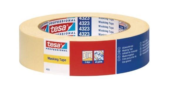Tesa 04323-00009-00 - Cinta adhesiva de carrocería (tamaño: 50mx30mm): Amazon.es: Bricolaje y herramientas