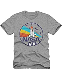 NASA Men's Space Short Sleeve Graphic T-Shirt