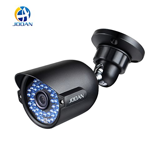 Security Camera Outdoor, JOOAN 604YRA-T (Update Version)1000TVL CCTV Outdoor Waterproof Bullet Surveillance Camera For Security 42-IR-LED - Black