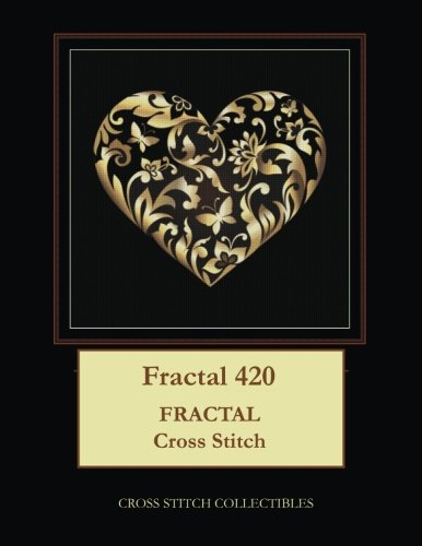 Fractal 420: Fractal cross stitch pattern Cardinal Cross Stitch Patterns
