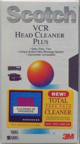 Scotch VCR Head Cleaner Plus by Scotch