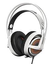 SteelSeries Siberia 350 Gaming Headset - White (formerly Siberia v3 Prism)