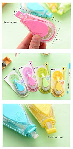 12 pcs/Lot Macaron color Water drips Correction tape LPS tapes stationery corretivo escolar fita Office supplies by PomPomHome (Image #3)