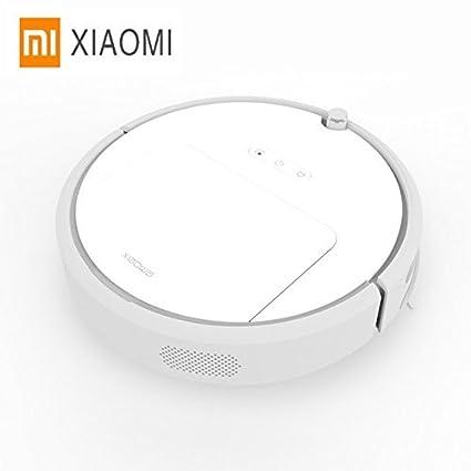 SYMTOP Xiaomi Xiaowa Robot Aspiradora de Limpieza Inteligente para Hogar Seco Barrer Mojado Polvo con Control