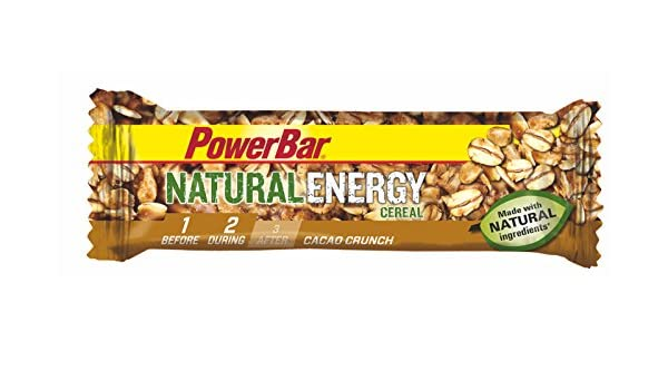 Barrita Energética Natural Energy Cereales PowerBar 12 Barritas x ...