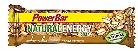 Barrita Energética Natural Energy Cereales PowerBar 12 Barritas x 40g Cacao