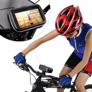"Case/Funda/Bolsa/Bolso de GPS/Navegador SatNav impermeable 3.5""~4.8"" Pulgadas montaje para Bici/Bicicleta/Moto/Motocicleta"