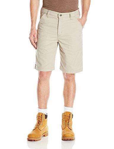 Carhartt Men's Rugged Flex Rigby Short, Tan, W34