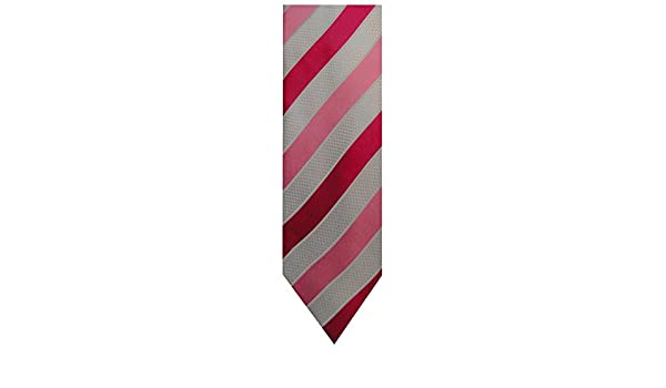 Donald Trump Signature Collection cuello corbata rosa plateado y ...