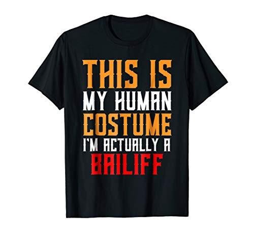 Human Costume - Bailiff Gift Shirt Halloween Costume for $<!--$17.95-->