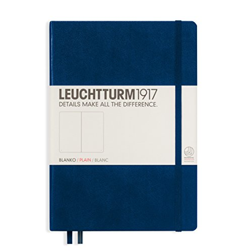 Leuchtturm Medium Hardcover Blank Navy product image