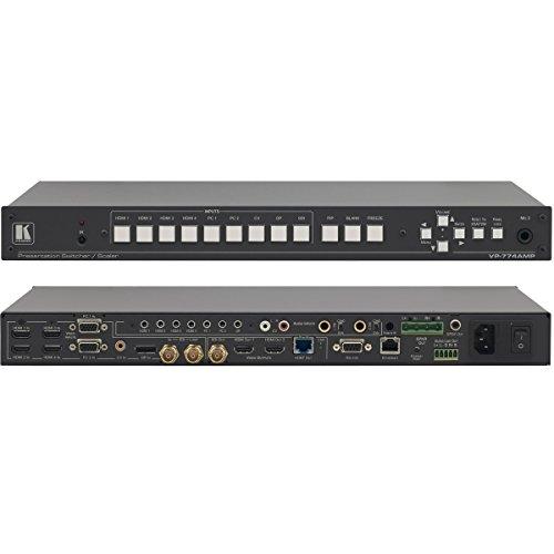 (Kramer VP-774AMP | 9 Input HDMI HDBaseT ProScale Presentation Switcher)