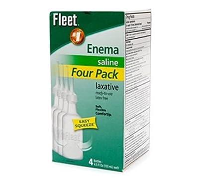 Fleet Disposable Enema 4 Bottle Value Pack