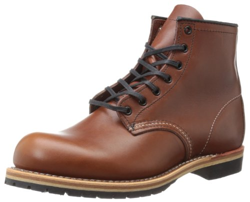 (Red Wing Heritage Men's Beckman 6-Inch Round Lace Up, Cigar Featherstone, 10.5 D US)