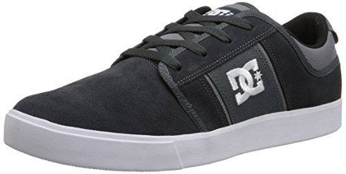 DC Men's RD Grand Skate Shoe, Grey/White, 10 M US (Dc Dyrdek Skate Shoes)