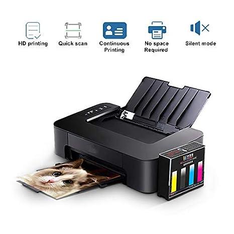 TANCEQI Impresora Multifunción (Tinta Color, 4800 × 600 PPP, 4.0 ...