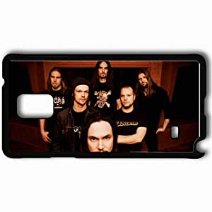 taoyix diy Personalized Samsung Note 4 Cell phone Case/Cover Skin Amorphis Dreadlocks Faces Band Look Black