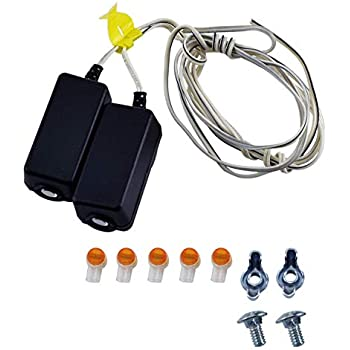 Chamberlain Liftmaster 41A4373A Safety Sensors - Garage Door Remote on wiring diagram kitchen, schematic for garage, heater for garage, remote control for garage, wiring diagram security camera, wiring diagram home, lighting diagram for garage, wiring layout for garage, door for garage, wiring a new garage, dimensions for garage,