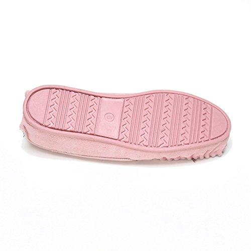 Zapatillas De Tela Con Estampado De Damas En Lino Y Suela De Gamuza Con Suela Dura - Gamuza Superior De Gamuza
