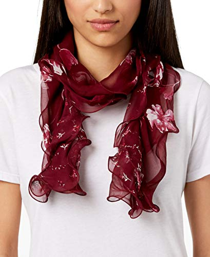 Lauren by Ralph Lauren Women's Fashion Scarves Wraps (Sonia, Red) ()