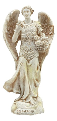 Ebros Ivory Painted Greek Orthodox Christian Church Archangel of The Angelic Council Statue 5