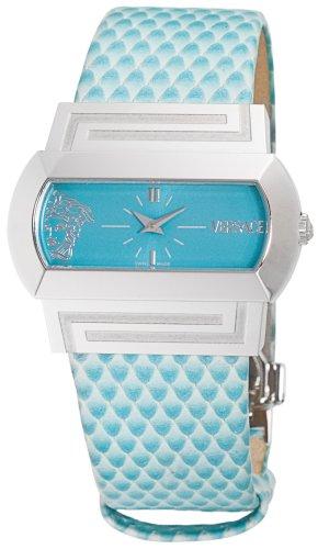 Versace Unisex PSQ99D305 S305 Hyppo Analog Display Quartz Green Watch