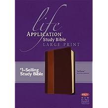 Life Application Study Bible NKJV Large Print, TuTone