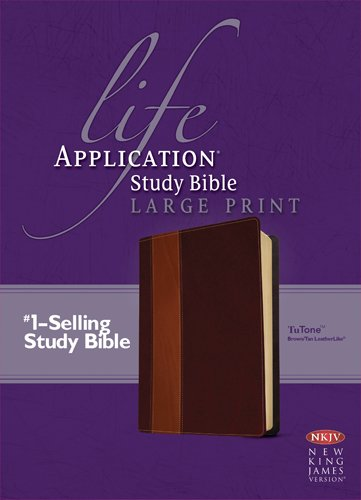 Download Life Application Study Bible NKJV Large Print, TuTone pdf epub