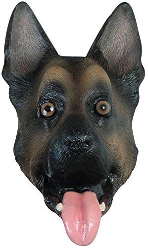 Ghoulish Latex Dog Mask Ship Today Funny German Shepherd Mask For Halloween Eagles -