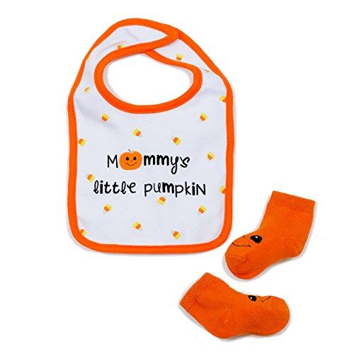 Cutie Pie Halloween Bib & Sock Set- Baby -