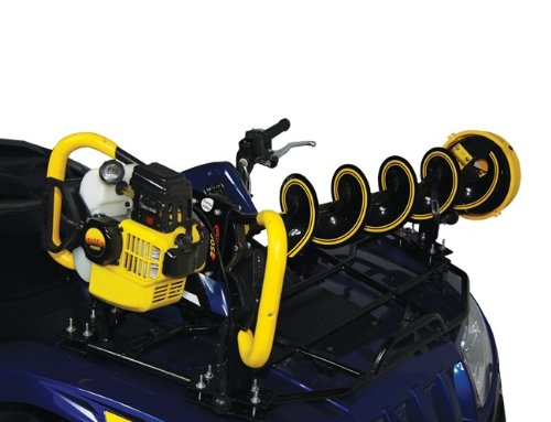 Atv Chainsaw Rack - Clam Auger Bracket - ATV Universal Mount