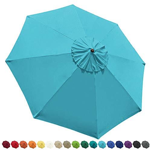 EliteShade 9ft Patio Umbrella Market Table Outdoor Deck Umbrella Replacement
