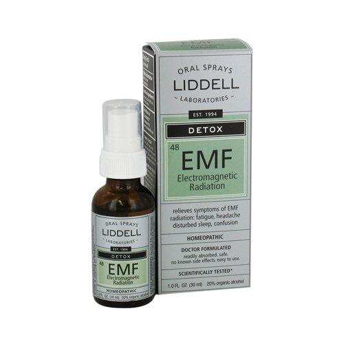 Liddell Homeopathic Anti-Tox Elecentero Magnetic EMF Radiation, 1 Ounce (Liddell Homeopathic Detox)