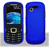 Samsung S425G SGH-S425G Blue Faceplate Hard Shell Phone Case Cover Cell Phone Accessory