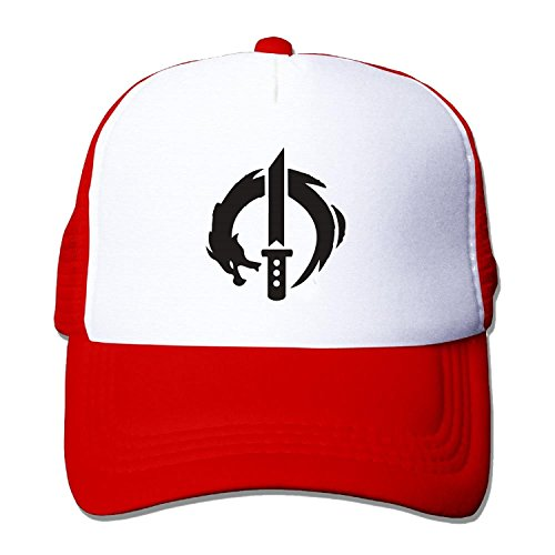 Unisex overwatch genji dragon blade Baseball Hat Mesh Back Trucker Snapback (5 colours)