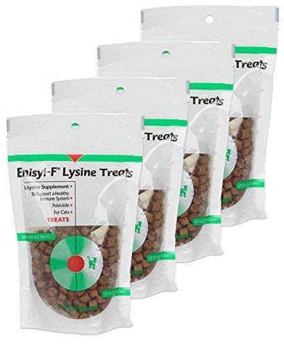 VETOQUINOL Enisyl-F Lysine Treats 6.35 oz Re-Closable Pouch (180gm)