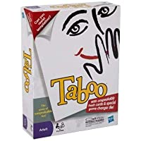 Happy GiftMart Taboo Game of Unspeakable Fun Family Toy Board Game for Grown Up Adult